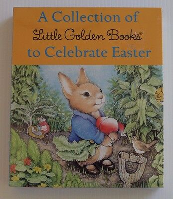 Little Golden books Box set To Celebrate Easter 5 books
