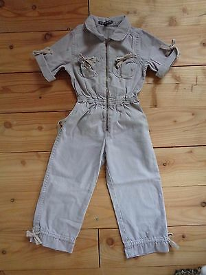 lili gaufrette Overalls for girls size 4 years