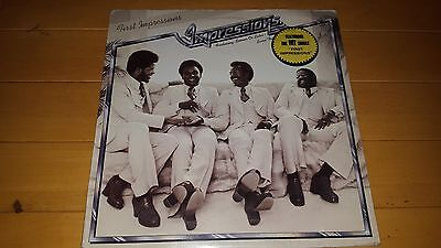The Impressions - First Impressions 1975 UK LP