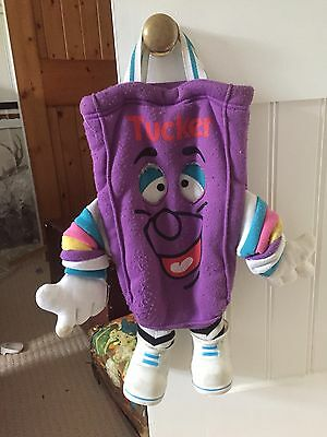Tucker Tuckerbag Supermarkets Mascot Kids Bag From Late 80's Early 90's