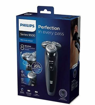 Philips Men's Wet & dry Electric Shaver Series 9000 S9031/12 V-Track Precision