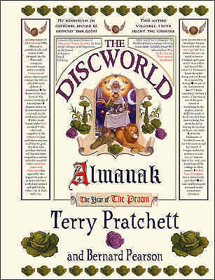 The Discworld Almanak: For the City of Ankh-Morpork by Bernard Pearson, Terry...