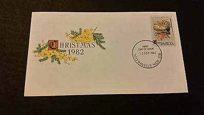 Christmas 1982 First Day Cover