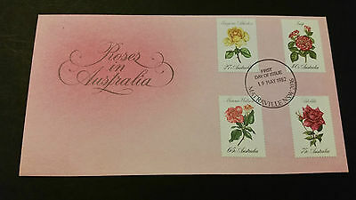 Roses in Australia First Day Cover
