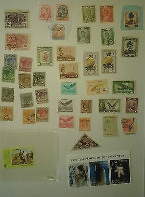 Asian used stamps