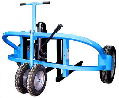 1500kg Rough Ground All Terrain Hand Pump Push Pallet Moving Truck