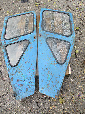 Pair Of Duncan Cab Tractor Doors Ford / Fordson