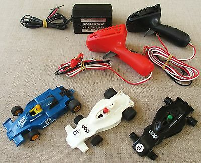 SCALEXTRIC PARTS LOT for VINTAGE SLOT CAR TOY HOBBY COLLECTOR