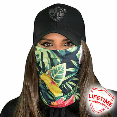 Hawaiian Floral Faceshield von SA Company