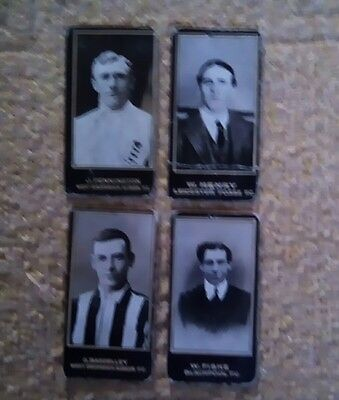 4 F&j Smith Footballs  Cards