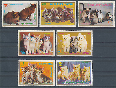 Guinee Equatoriale 1976 Chats N° Yvert  98**  Aerien A82**