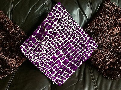 "The Cushion Factory designer cushion cover 17"" square"