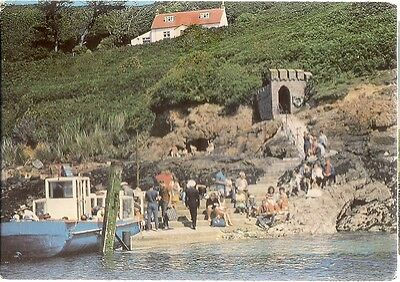 Very Nice Rare Old Postcard - Rosiere Steps - Herm - Channel Islands C.1970