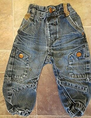 Baby Boys cuffed Jeans from George age 12-18months