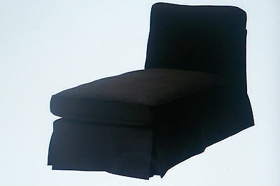 New Ikea Ektorp chaise lounge COVER SET ONLY [ free standing] in Svanby Brown