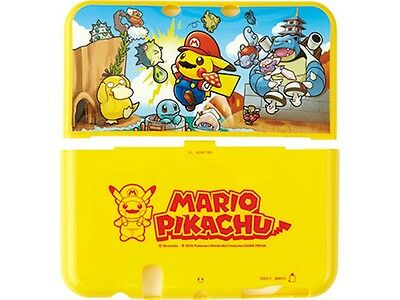 Pokemon Center Original TPU Cover New Nintendo 3DS LL Pikachu Mario Japan Anime
