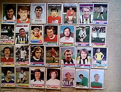 Assorted A & BC gum football cards 20 + in total