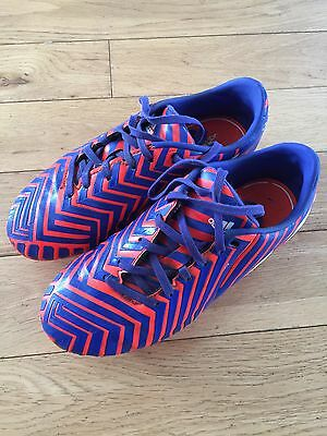 Adidas Boys Absolado football boots size 2