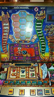 Arabian nights fruit machine