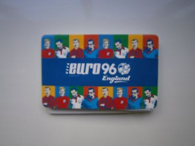 Mastercard Euro 96 England Official Card And Limited Edition Simply Red Cd
