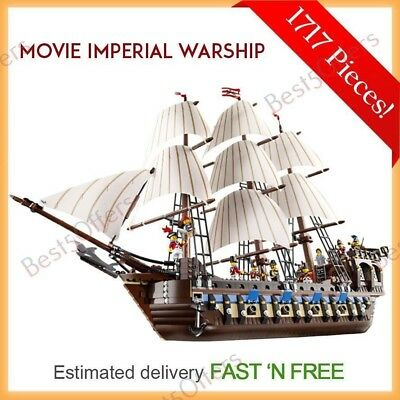 Imperial Warship Model 1717 pcs Building Blocks Puzzle Toy Set With Minifigure