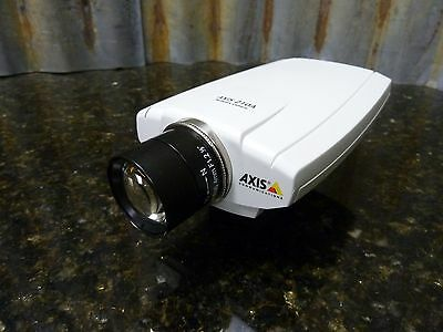 Axis Communications 210A IP Network CCTV Camera Lens PoE Motion Detecting Audio