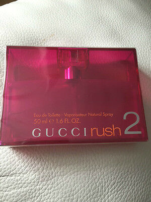 Genuine Gucci Rush 2 Eau De Toilette for Women 50ml