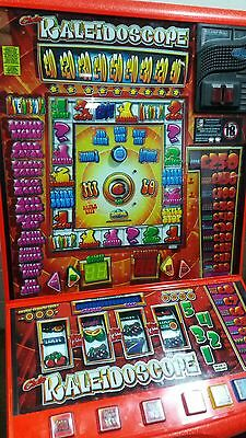 Kaleidoscope club £250 jackpot fruit machine