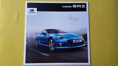 Subaru BRZ Coupe 6MT 6AT 2.0 official paper brochure catalogue 2014 MINT BR Z