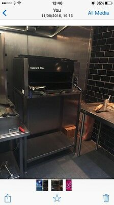 Commercial Catering Gas Nan Salamander Grill