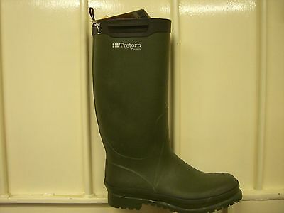 Mens green wellies/wellington boot size UK 8 - RRP£50 - New