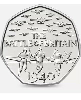 RARE COIN The Battle of Britain 1940 50 pence 50p Commemorative Coin