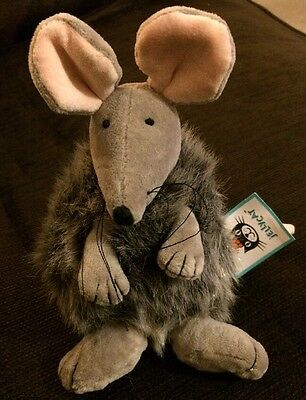 Jellycat Genuine Puffball Mouse Brand New With Tags RARE Bunny