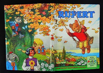 Superb Vintage Original 1961 Rupert Bear Annual, Price Unclipped 5/-