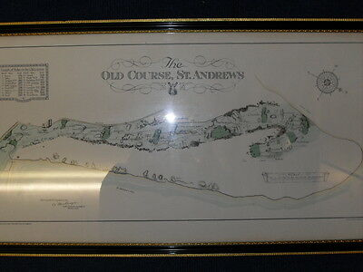 St Andrews The Old Course (Framed Print)
