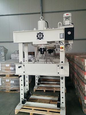 Hydraulic Press, Workshop Press 80t with 500mm Stroke, special auction