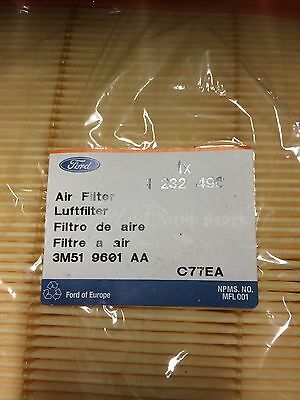 Ford Focus & C Max New Genuine Air Cleaner Filter Element 1232496
