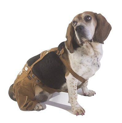 EINSZWEIDOG Oktoberfest German Dog Lederhosen, Multiple Sizes 4XL