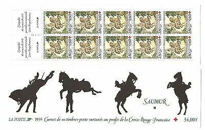 Carnet Timbres  Croix Rouge France Neuf Annee 1995
