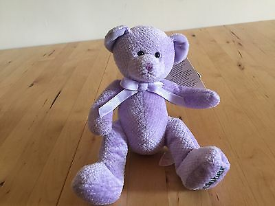 Russ October Bear Cuddly Soft Plush Teddy Toy With Tags
