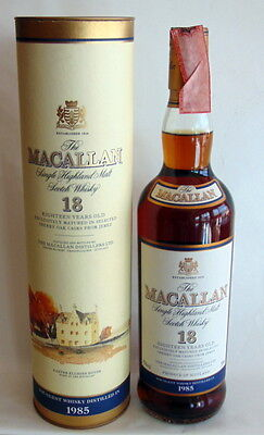 Whisky The Macallan 18 Years Old 1985 Single Highland Malt Scotch Whisky