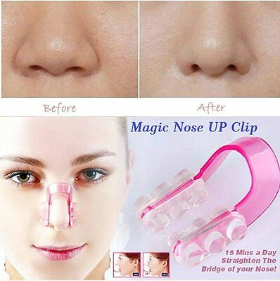 1 Set Nose Up Lifting Shaping Clip Clipper Shaper Beauty Tool 1 Size No Pain UK