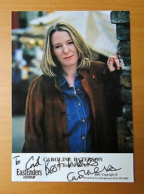 Eastenders Caroline Paterson Ruth Fowler Hand Signed Cast Card Free P&p