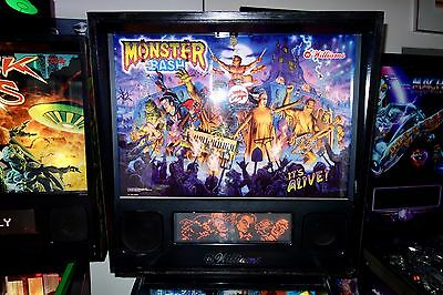 Williams 1998 MONSTER BASH ARCADE PINBALL MACHINE WITH LEDS