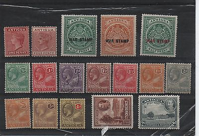 Antigua Mint And Used Selection