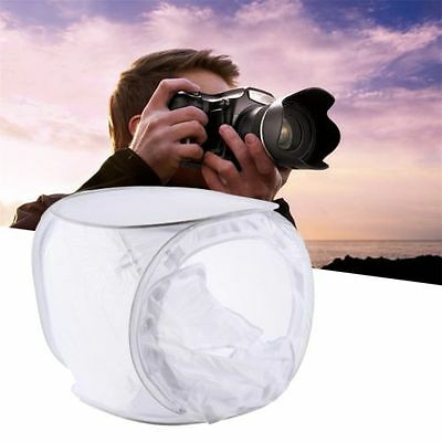 "60cm/24"" Cube Photography Shooting Light Tent Photo Studio Backdrops Kit box SE"