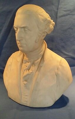 parian bust george washington signed macbride