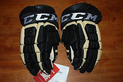 New Pro Stock Ccm Cl Hockey Gloves Pittsburgh Penguins 13""