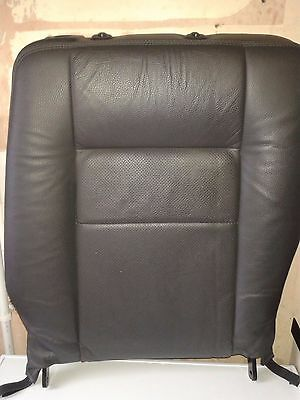 zafira B 2007 second row leather seat back drivers side