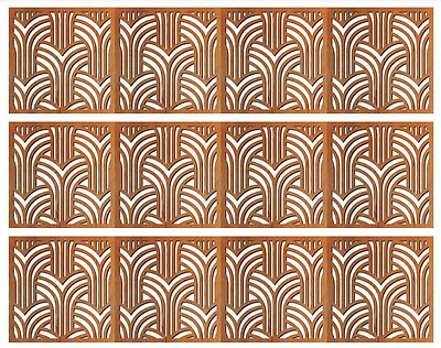 dollhouse wainscot wallpaper 1/12 scale new